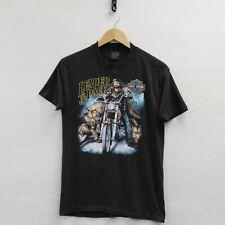 Vintage 1988 Harley Davidson Leader of the Pack 3D Emblem T-Shirt Medium 80s
