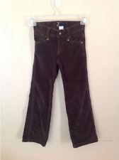 GAP Kids Brown Velour Pants Straight 5 Slim School Adjustable Waistband 5S Girls