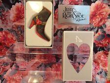 "Just The Right Shoe Raine Originals - ""Love Heals ""- 2003 New Get Well"