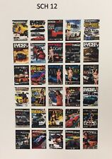 1/25,1/25 Model Car Magazine Media Detail,Import Tuners Mags,Diorama,(SCH12)