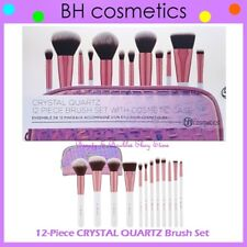 ❤️⭐ NEW BH Cosmetics 😍🔥👍 CRYSTAL QUARTZ Brush Set 💎💋 12-Piece w/Zipper Case