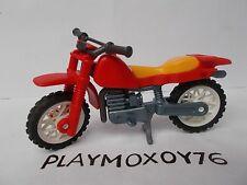PLAYMOBIL. TIENDA PLAYMOXOY76. MOTO DE TRIAL.