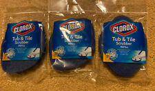 3x CLOROX Tub and Tile Scrubber Refill NIP Lot