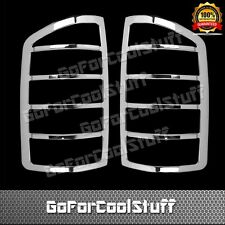 For 02-06 Dodge Ram Chrome Tail Light Abs Cover