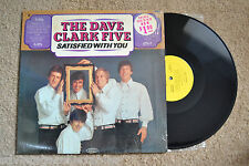 DAVE CLARK FIVE Satisfied With You shrink RECORD LP NM