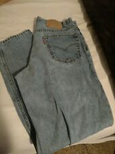 Levi's 550 36x32 Jeans