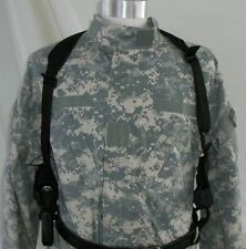 USA Mfg Cross Draw Glock 17 Shoulder Holster with 2XMag pouch Left Or Right side