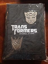 Universal Studios theme park Transformers Ride Hardcover Journal Book diary