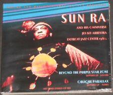 SUN RA & ARKESTRA beyond the purple star zone/oblique parallax UK CD new sealed