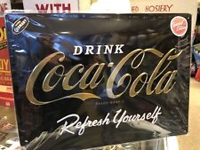 Drink Coca Cola Special Embossed Metal Sign