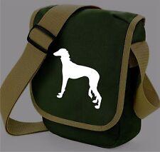 More details for saluki gift pack shoulder bag wallet saluki dog birthday gift bag & purse