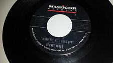 GEORGE JONES When The Wife Runs Off / If Not For You MUSICOR 1366 RECORD