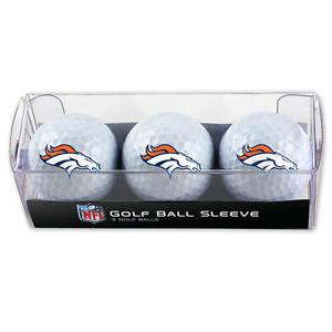 Denver Broncos Golf Balls 3 Pack
