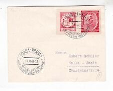 Bohemia,moravia 1941 cover with two mozart stamp          d1116