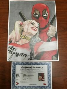 Print Pack Choose 5 Harley Quinn Batman Comic Art Pinup Girl by JD Noir