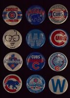 """Chicago Cubs World Series Champs - 1"""" Pinback Buttons (>Free Shipping<)"""
