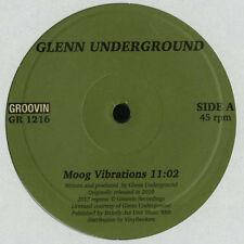 "GLENN UNDERGROUND "" MOOG VIBRATIONS "" / "" URBAN FLIGHT.."" NEW RE-ISSUE EURO 12"""