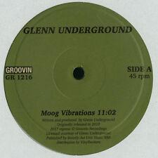 "GLENN UNDERGROUND "" MOOG VIBRATIONS "" / "" URBAN FLIGHT.."" NEW RE-ISSUE EURO 12"""