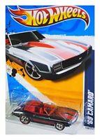 Hot Wheels 2012 Super Treasure Hunt 69 Camaro Muscle Mania GM Secret T-Hunt