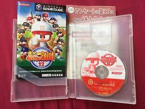 GC LIVE Powerful Pro BASEBALL 12 JIKKYOU Yakyu GAMECUBE 2005 WORLD FREE POST