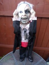 More details for halloween animated phantom face ripper magic power 30