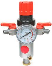 """Druckminderer Druckregler plus Filtereinheit 1/2"""" mit Druckluft Manometer 00599"""