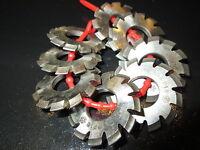 Involute Gear Cutters Fraise Module 20° Gear-Cutter 0,5 Jusqu'À 6,0 HSS UdSSR