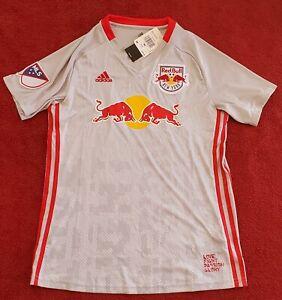 Women's MLS Size M Adidas New York Red Bulls Soccer Home Jersey DP4798