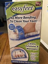New Easyfeet No more bending to clean your feet Cleans Exfoliates and Massages