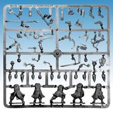Frostgrave los cultistas del armazón - 5 figuras de plástico parte Multi - 28MM