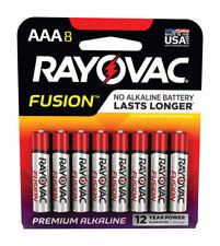 Rayovac  Fusion  AAA  Alkaline  Batteries  8 pk Carded