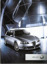 Prospekt / Brochure Alfa Romeo 147 11/2004