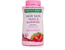 Nature's Bounty Hair Skin and Nails 230 Gummies Taste Good.Multivitamin Collagen