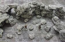 FROSTGRAVE (suited) - MEDIUM  'ROCKS & BOULDERS PACK' - PAINTED FANTASY TERRAIN
