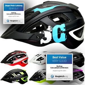 SkullCap® Casco Bici MTB con Visiera Caschi MTB Bici Uoma & Donna per bicicletta