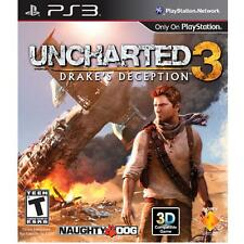 Uncharted 3: Drake's Deception (Sony PlayStation 3, 2011)
