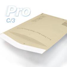 100 Enveloppes à bulles *MARRON* gamme PRO taille C/3 format utile 140x215mm
