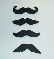 3005M Hand Crafted 50-3 inch Mustache 50 lips Gender Reveal Little Man Party