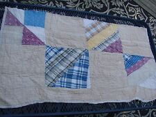 VINTAGE PATCHWORK STRING OR STRIP CUTTER QUILT PIECE