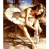 5D DIY Ballet Girl Full Drill Diamond Painting Cross Stitch Home Kit Gift Decor