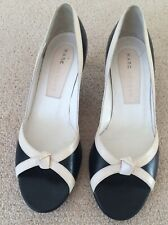 MARC BY MARC JACOBS WOMEN'S COURT SHOES IN BLACK LEATHER UK SIZE 3 US 6 M