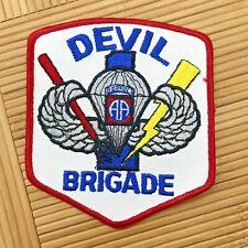 Devil Brigade AFJROTC Air Force Patch Award Badge AF JROTC