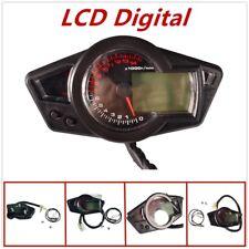 Motorcycle odometer 15000RPM Digital odometer speedometer tachometer universal