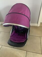 Babystyle Oyster 2 / Max Upper Seat Unit Purple Pack and Harness Pads