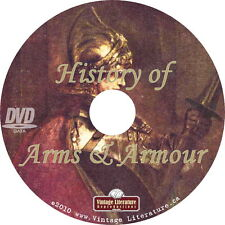 Arms & Armour - Historical Library {30 Medieval Books } Collection on DVD