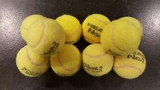 10 St. gebrauchte Tennisbälle, verschiedener Hersteller