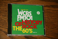 History of Rock: The 60's, Pt. 4 - WCBS FM 101 by Various Artists (CD,UNOPENED