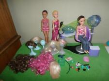Liv Doll Doll's  Chair Wigs Accessories Stands Lot Spin Master Huge Lot
