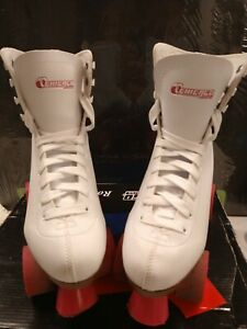 CHICAGO  Indoor/Outdoor Roller Skates Women's Classic White - Size 8 With Box