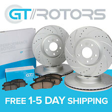 [Front & Rear] Brake Disc Rotors & Ceramic Pads for Acura TL 2004 05 06 07 2008